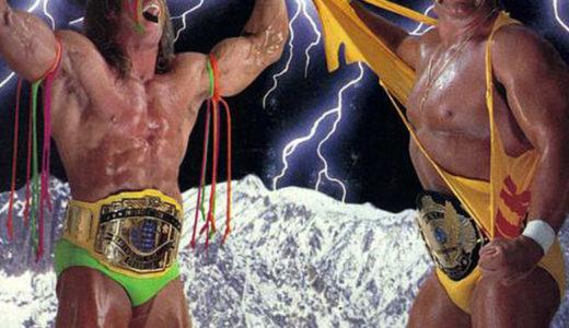 ハルク・ホーガン vs アルティメット・ウォリアー@レッスルマニアVI(1990年)